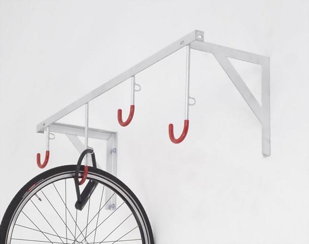 fahrradst nder f r 2 8 fahrr der reihen h ngeparker fahrrad keller garage ebay. Black Bedroom Furniture Sets. Home Design Ideas