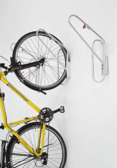 fahrradhalter zur wandmontage fahrradst nder f r 1 fahrrad h ngeparker wand ebay. Black Bedroom Furniture Sets. Home Design Ideas