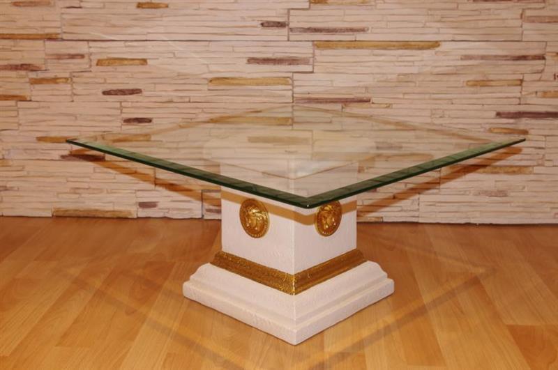 glastisch beistelltisch blumens ule deko stand s ule blumenst nder versa serie ebay. Black Bedroom Furniture Sets. Home Design Ideas