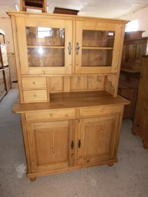 4343 k chenbuffet buffet jugendstil buffet weichholz. Black Bedroom Furniture Sets. Home Design Ideas
