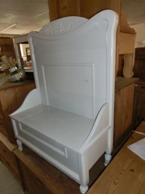 4388 bank bettbank weichholzbank truhenbank holzbank. Black Bedroom Furniture Sets. Home Design Ideas