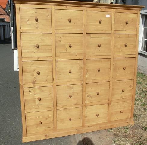 3738 apothekerschrank schrank kommode anrichte weichholz. Black Bedroom Furniture Sets. Home Design Ideas
