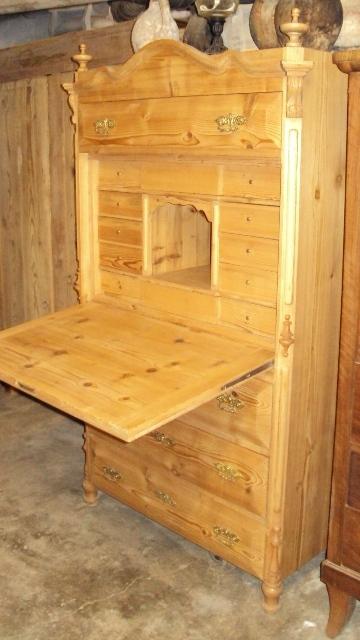 nr 1402 sekret r wiener barock schreibtisch schrank. Black Bedroom Furniture Sets. Home Design Ideas