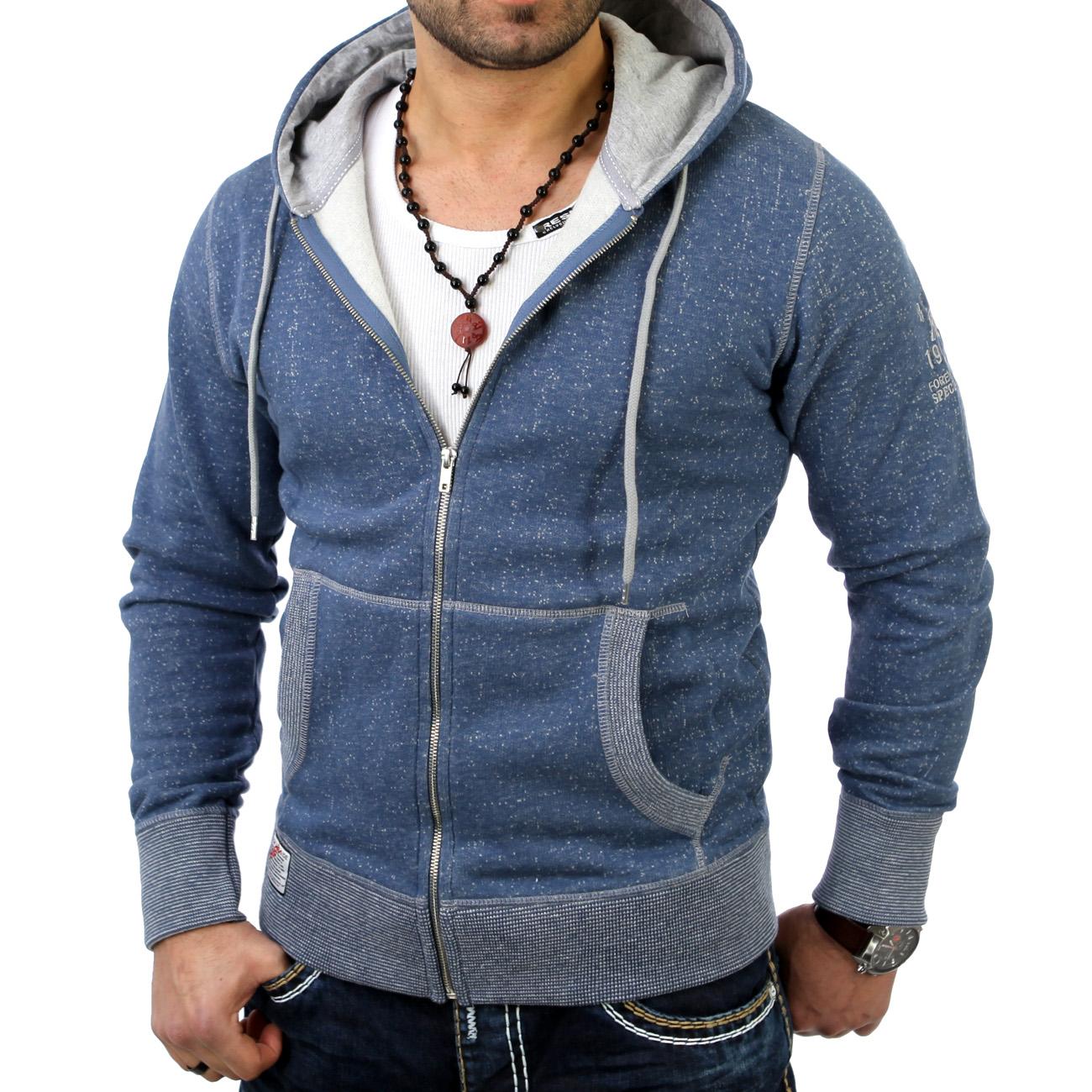 reslad herren kapuzen pulli pullover jacke sweat shirt hoody sweatjacke neuss. Black Bedroom Furniture Sets. Home Design Ideas