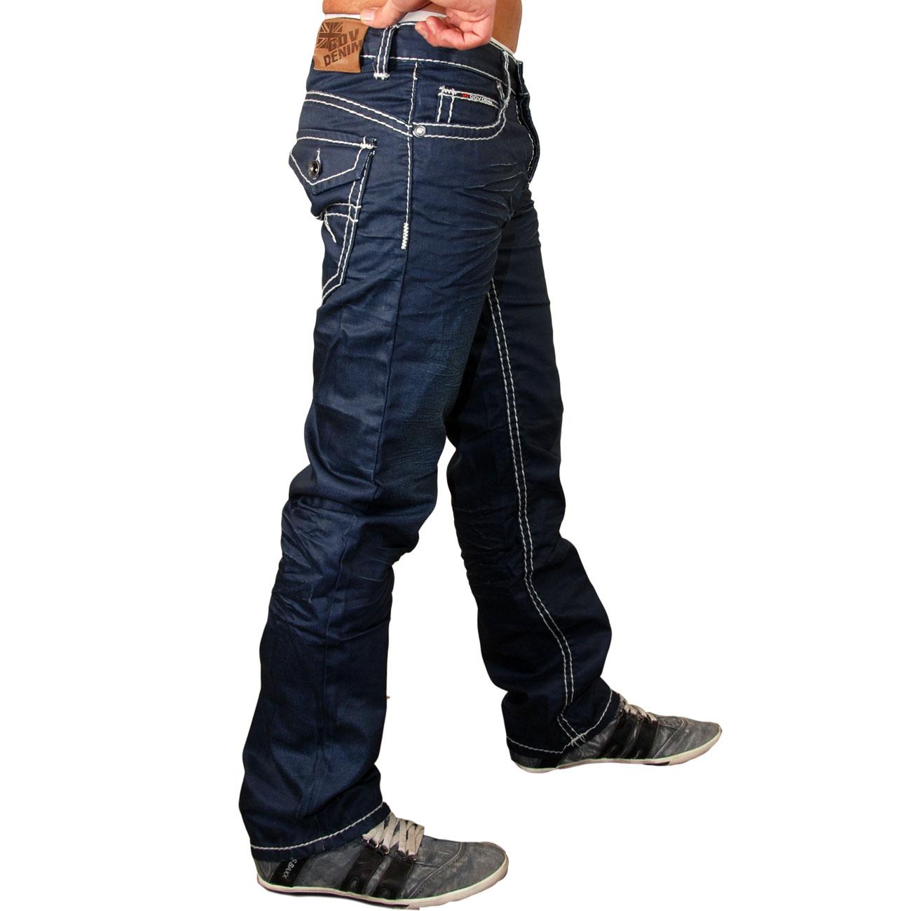 reslad z 3392 herren used look dicke naht jeans hose. Black Bedroom Furniture Sets. Home Design Ideas