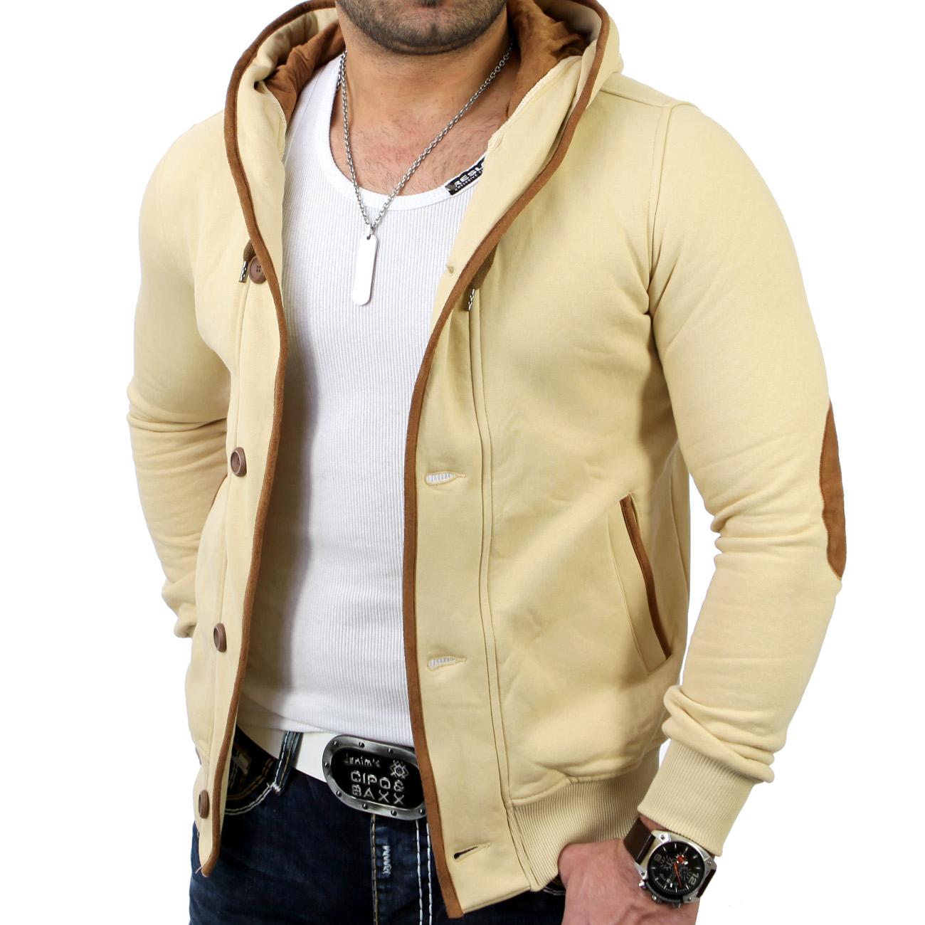 reslad rs 5066 herren kapuzen sweat jacke pullover hoody t shirt sweatshirt ebay. Black Bedroom Furniture Sets. Home Design Ideas