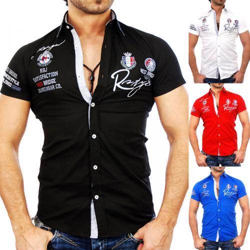 Redbridge RB-2122 Herren Kurzarm Polo Hemd Poloshirt T-Shirt Freizeithemd