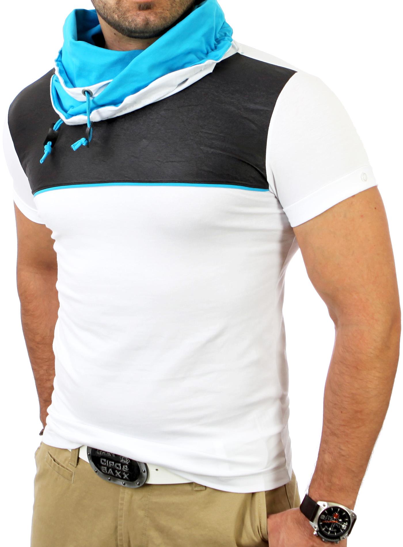 reslad herren huge collar hoher kragen t shirt poloshirt hemd rs 1174 ebay. Black Bedroom Furniture Sets. Home Design Ideas