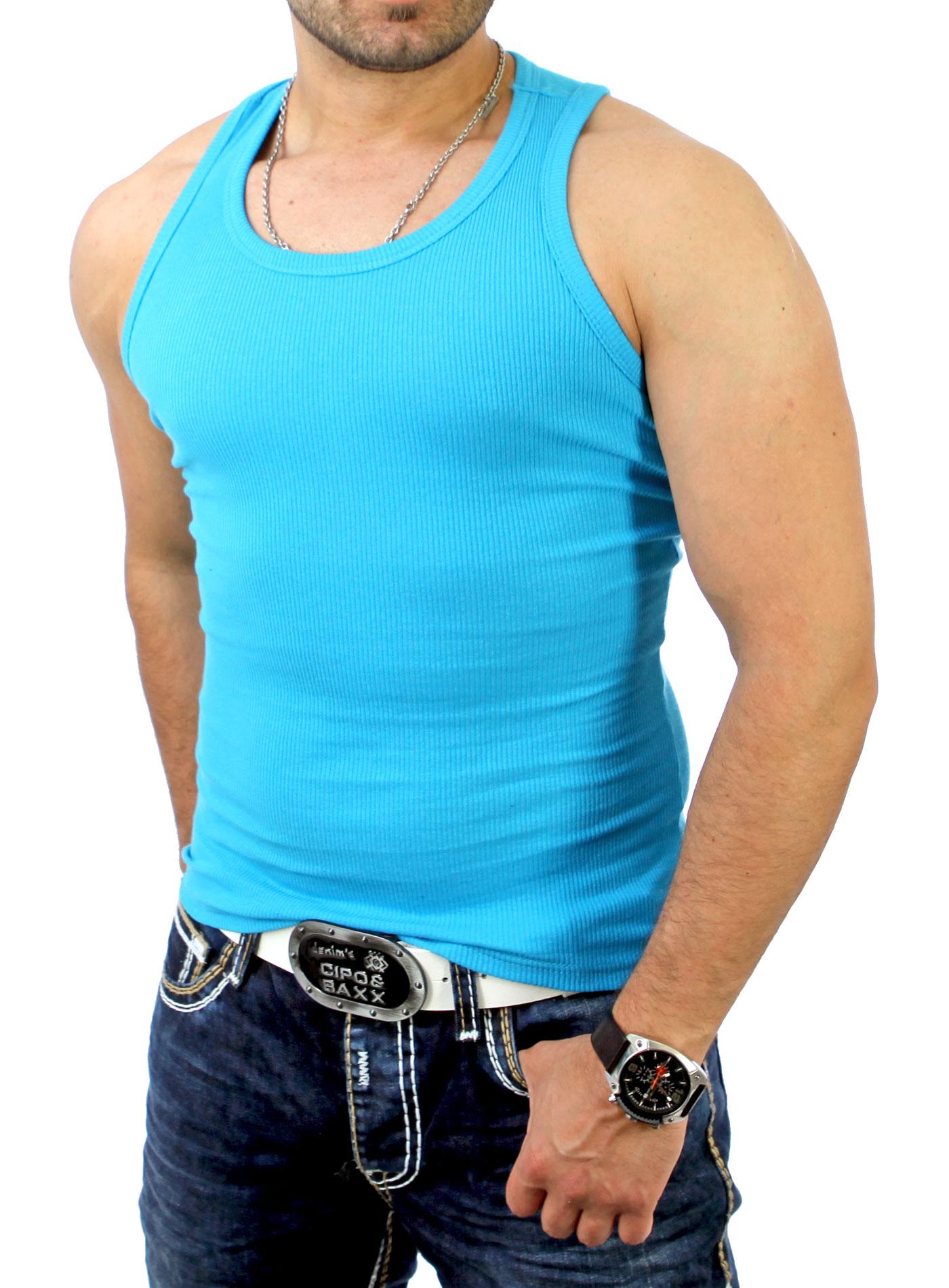 kickdown herren tank top fitness muskel t shirt feinripp hemd muskelshirt k 100 ebay. Black Bedroom Furniture Sets. Home Design Ideas