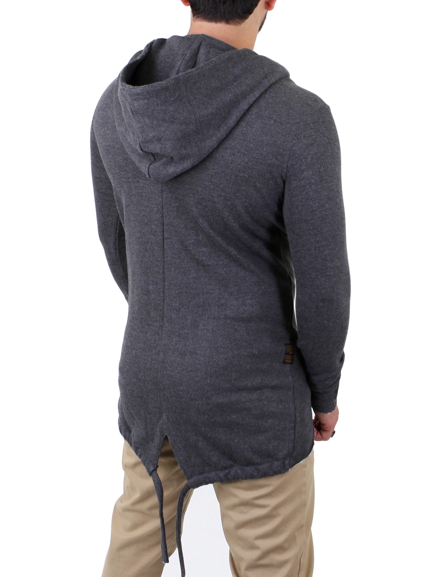 redbridge herren oversize zipper cardigan lang strick jacke pullover hoody 41354 ebay. Black Bedroom Furniture Sets. Home Design Ideas