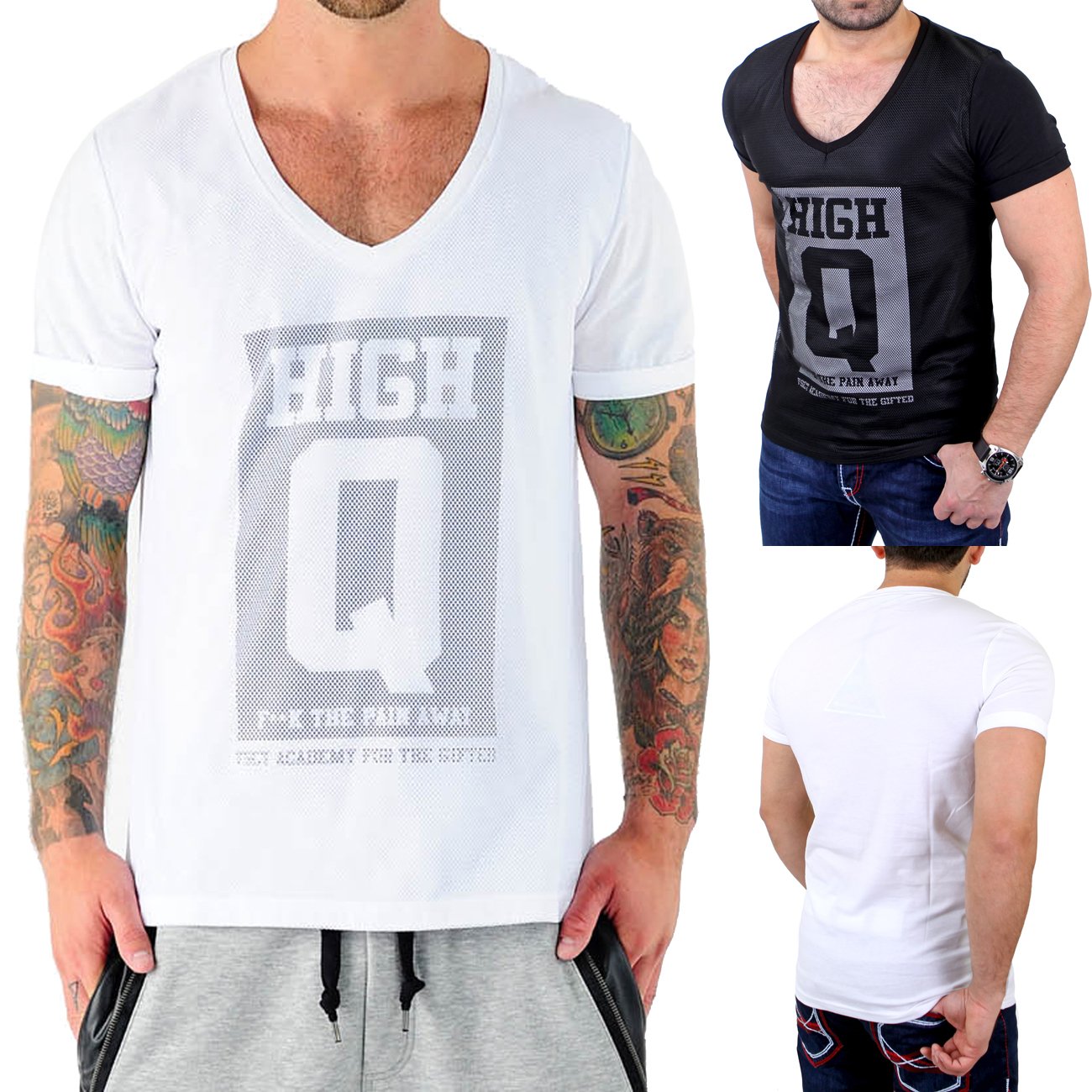 vsct t shirt herren high q mesh netz shirt v 5641156 ebay. Black Bedroom Furniture Sets. Home Design Ideas