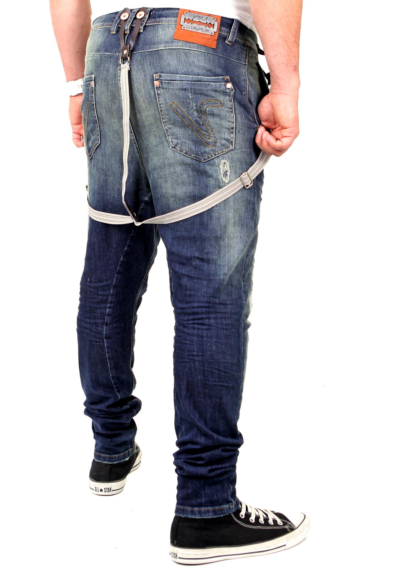 vsct jeans herren brad slim fit tinted mit hosentr ger v. Black Bedroom Furniture Sets. Home Design Ideas