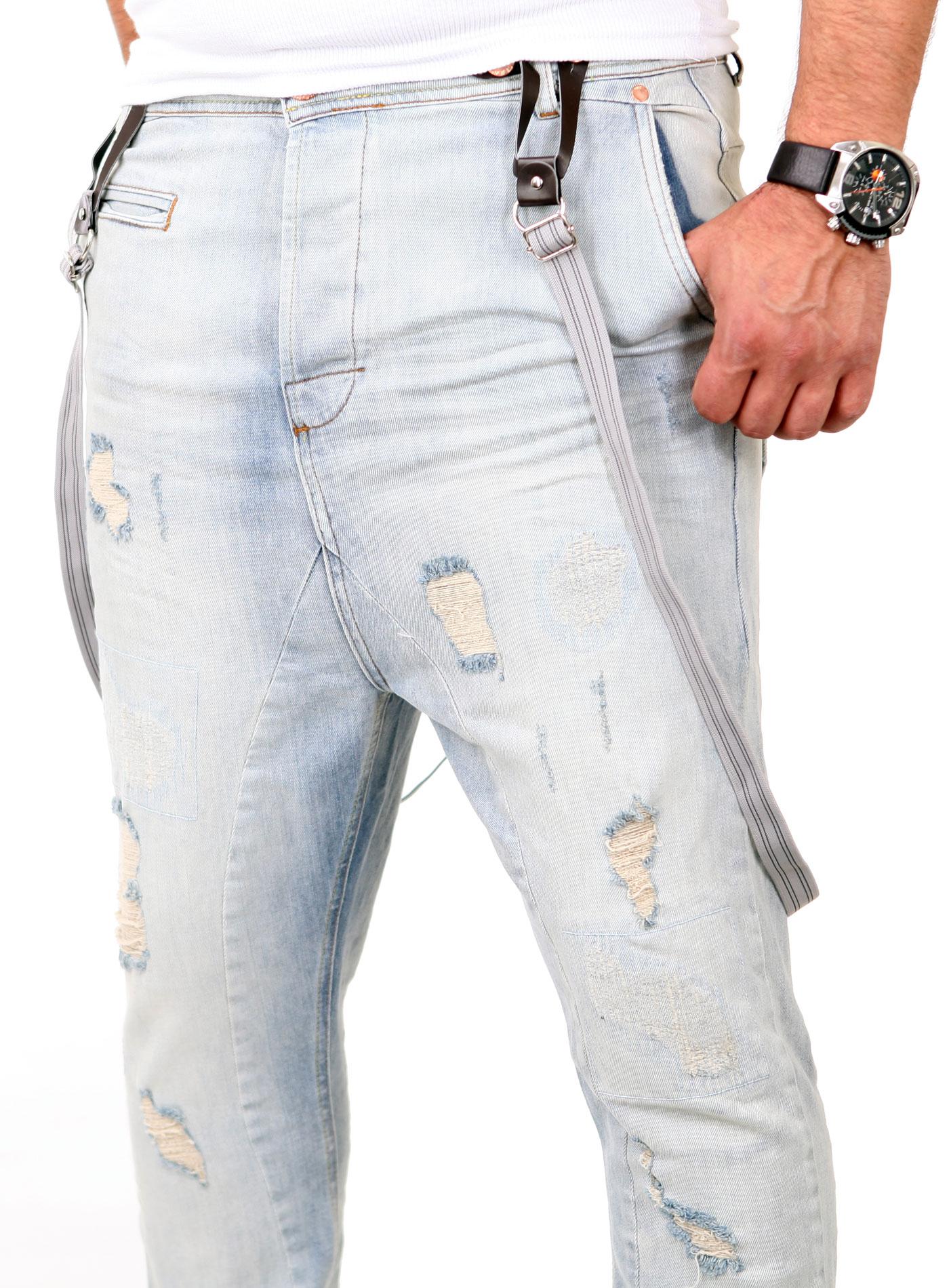 vsct trend jeans herren destroyed brad slim fit mit. Black Bedroom Furniture Sets. Home Design Ideas