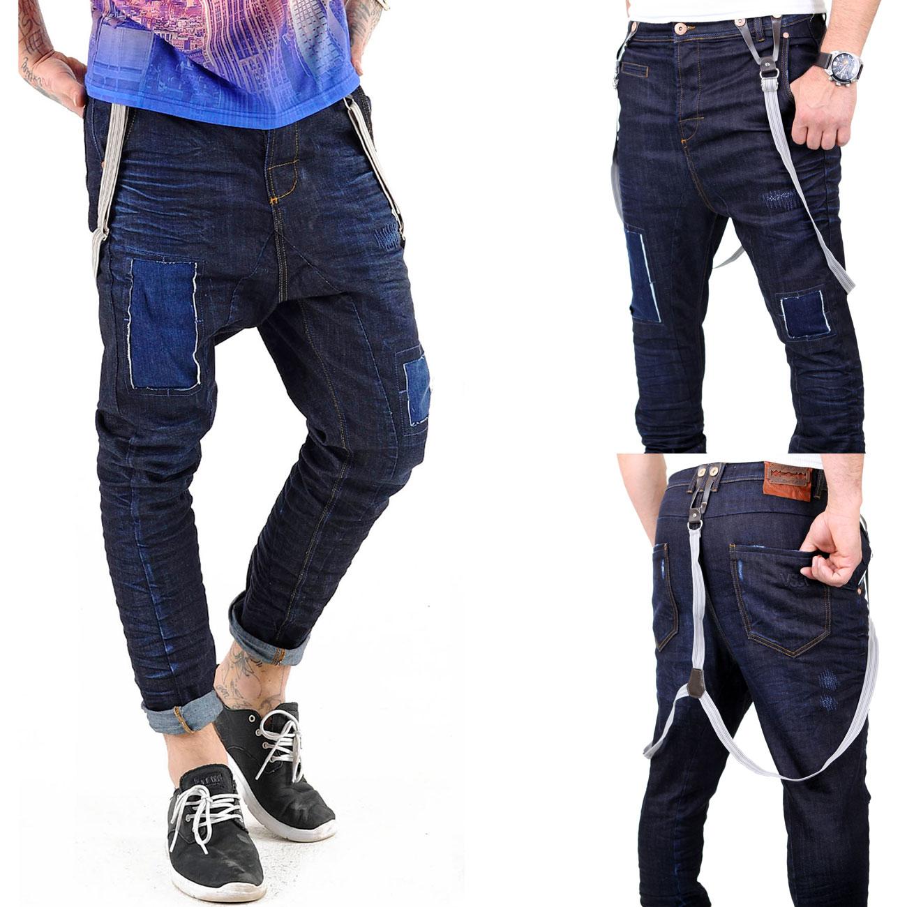 vsct jeans herren brad slim fit rinsed mit hosentr ger v. Black Bedroom Furniture Sets. Home Design Ideas