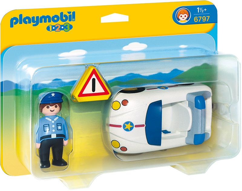 Playmobil 123 police car 6797 ebay for Kinderzimmer playmobil