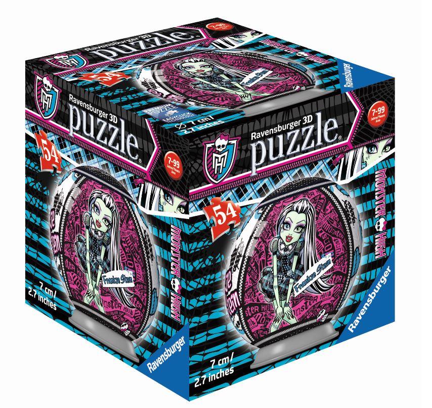 RAVENSBURGER 3D Puzzle-Ball Monster High | eBay