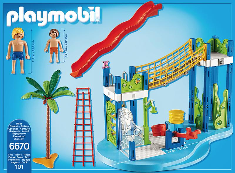 playmobil summer fun aire de jeux aquatique 6670 ebay. Black Bedroom Furniture Sets. Home Design Ideas