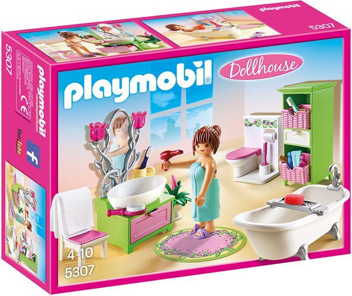 Baño Romano Definicion:Playmobil Romántico Casa de muñecas 5307 baño romano