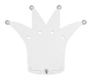 tr present wandlampe f r kinder aus holz krone wei neu in ovp ebay. Black Bedroom Furniture Sets. Home Design Ideas