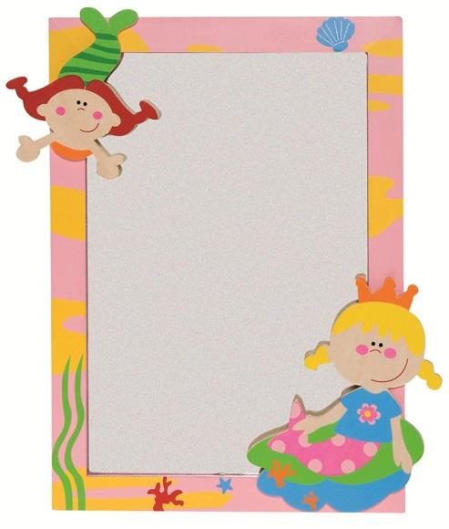 trÄ present kinder spiegel meerjungfrauen neu in ovp | ebay