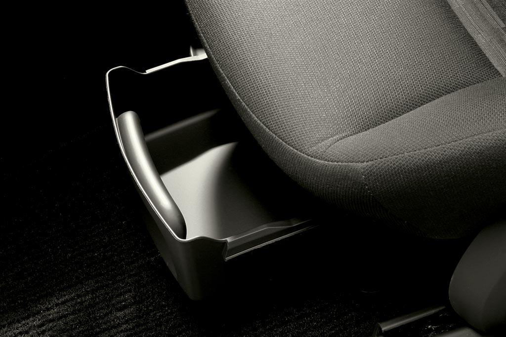 mercedes benz ablagebox unter sitz a b klasse komplett ebay. Black Bedroom Furniture Sets. Home Design Ideas