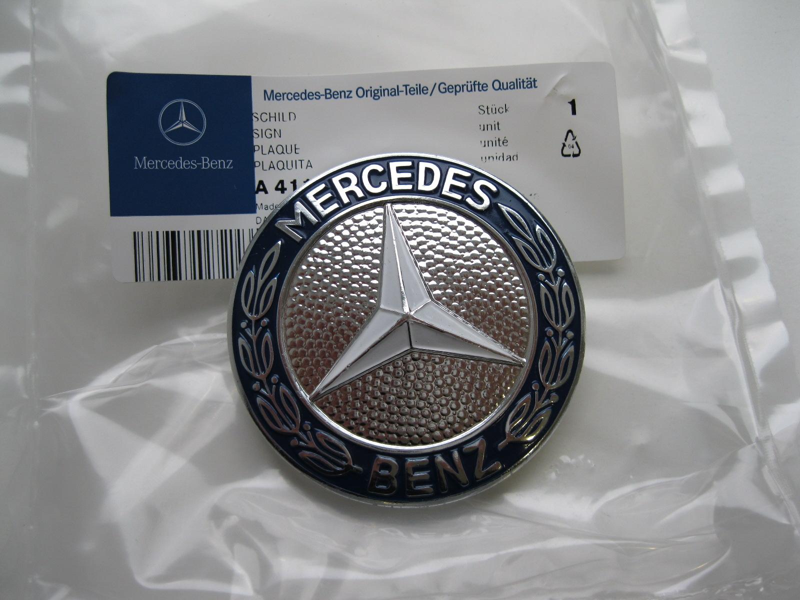 original mercedes benz unimog emblem 406 411 416 435 ebay. Black Bedroom Furniture Sets. Home Design Ideas