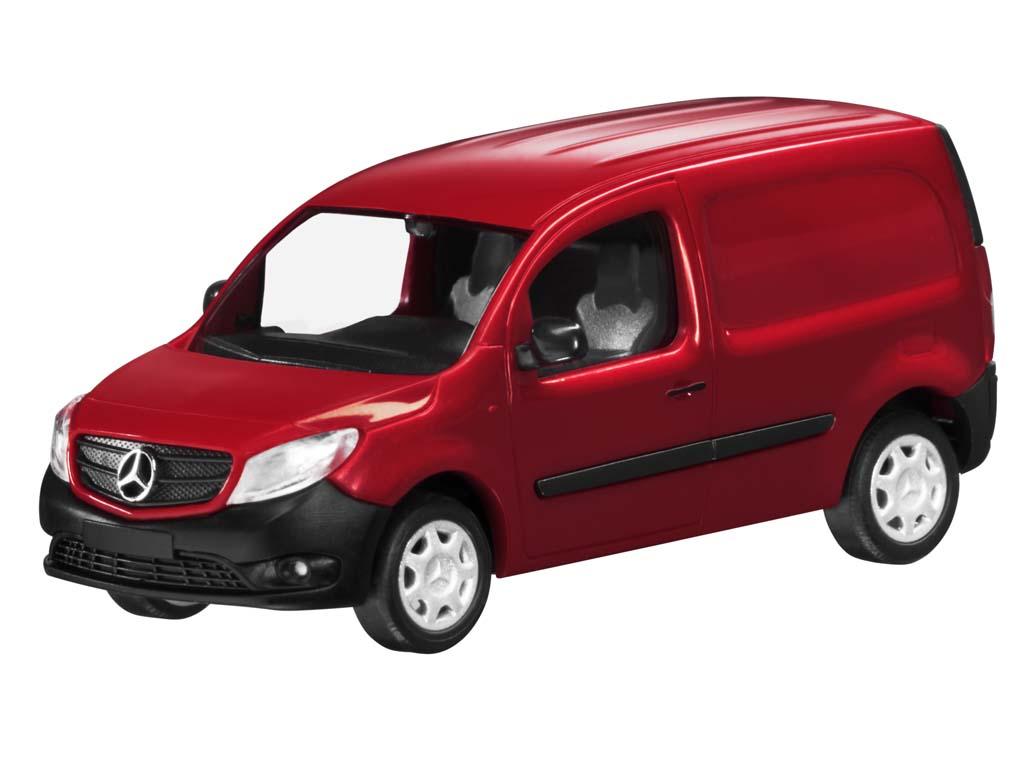mercedes benz citan kastenwagen w 415 amarenarot 1 87 ebay. Black Bedroom Furniture Sets. Home Design Ideas