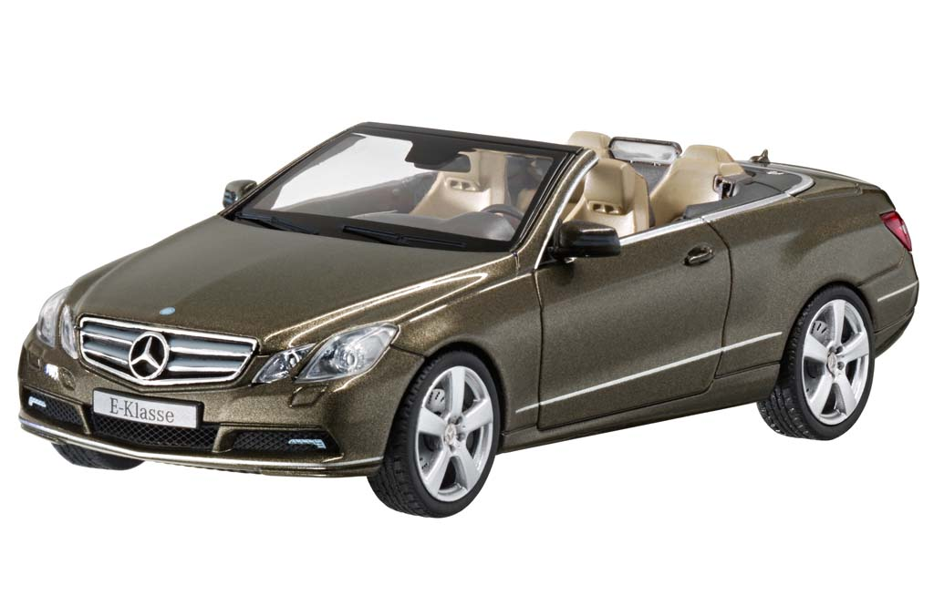 mercedes benz e klasse cabriolet a207 stannitgrau 1 43 ebay. Black Bedroom Furniture Sets. Home Design Ideas