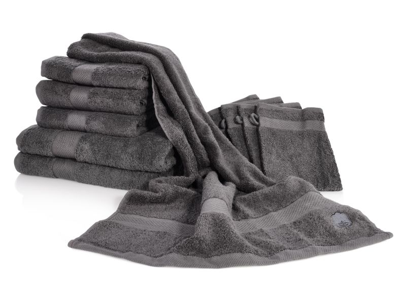 bluespoon handtuch set baumwolle handt cher duscht cher badet cher 10 teilig ebay. Black Bedroom Furniture Sets. Home Design Ideas