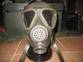 ABC-Schutzmaske Gasmaske Maske Atemmaske Bw M65Z oliv neuwertig