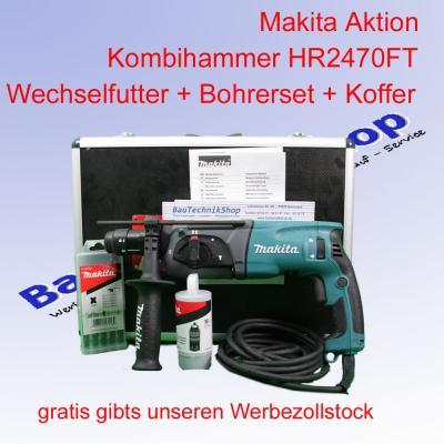 makita bohrhammer hr2470ft hr2470ftx sds plus gratis zollstock ebay. Black Bedroom Furniture Sets. Home Design Ideas