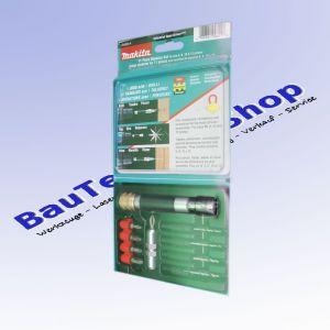 Makita 11-tlg. Schnellschraubset 6; 8; 10 und 12mm - Bohren und Schrauben
