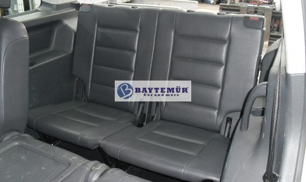 vw touran 3 sitzreihe 7 sitzer ledersitze sitze leder ebay. Black Bedroom Furniture Sets. Home Design Ideas