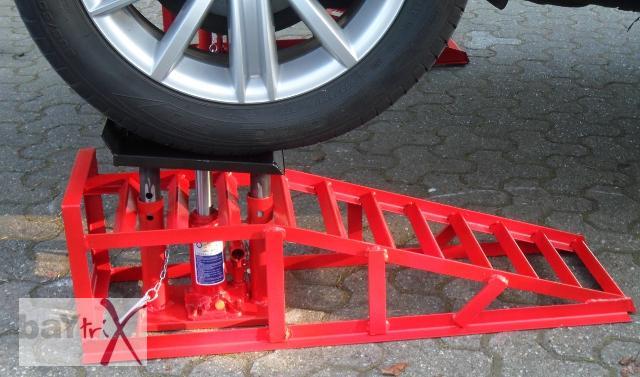 adjustable car ramps car ramp jack 225 mm tyre car ebay. Black Bedroom Furniture Sets. Home Design Ideas