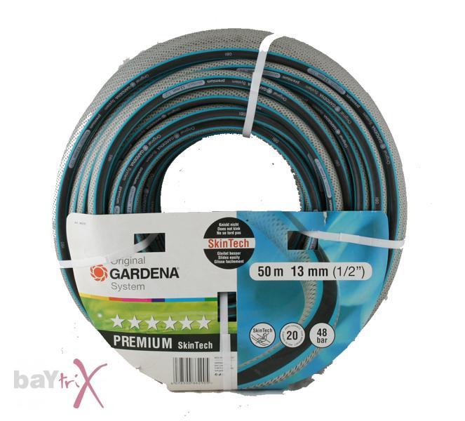 gardena 8629 premium skintech schlauch 1 2 50 meter 13 mm garten 1 99 eur m ebay. Black Bedroom Furniture Sets. Home Design Ideas