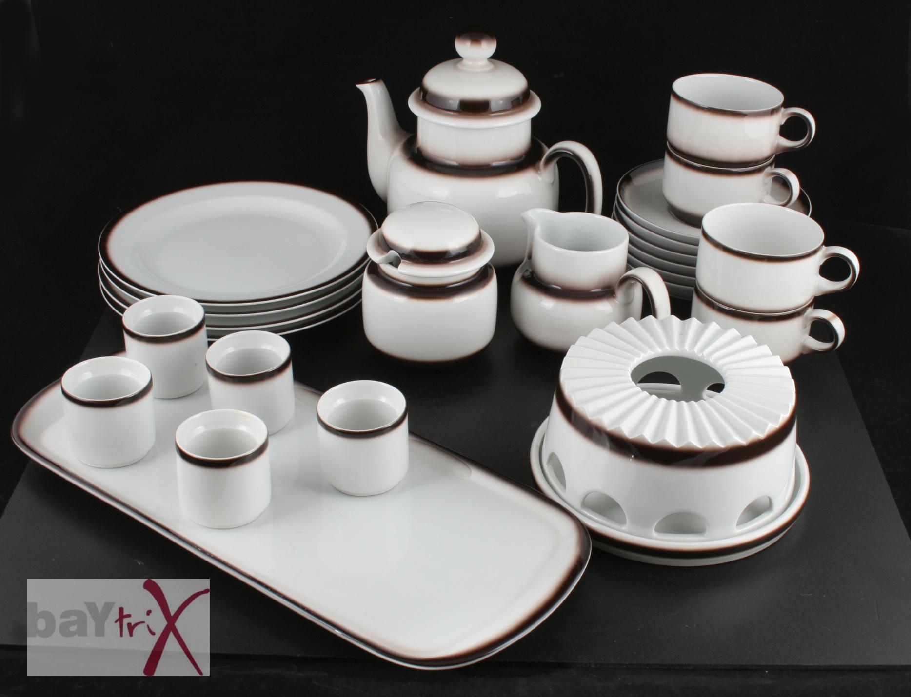 arzberg kaffeeservice f r 4 personen ersatz tasse teller st vchen kanne eier ebay. Black Bedroom Furniture Sets. Home Design Ideas