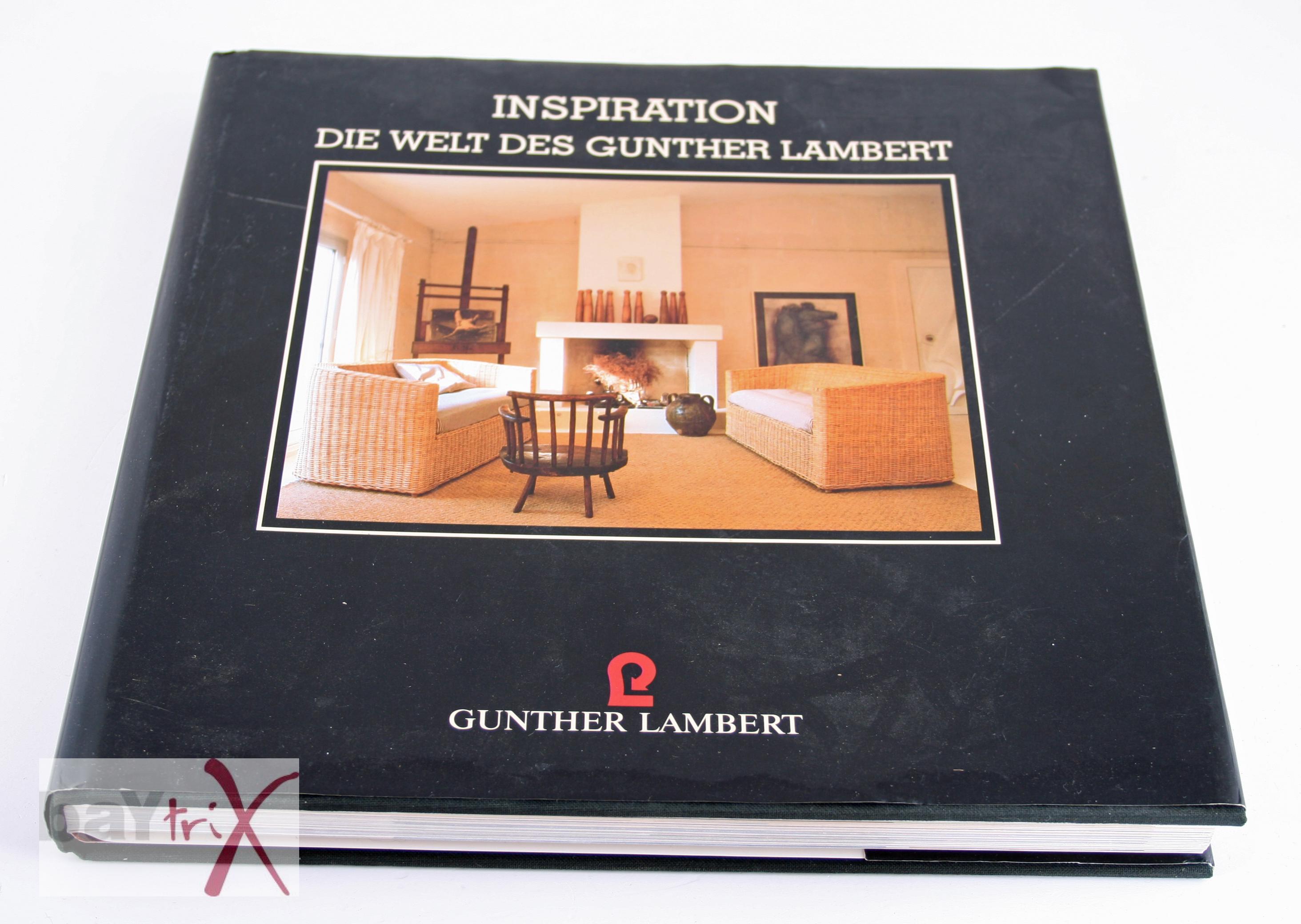 buch inspiration die welt des gunther lambert mit preisliste 1994 ebay. Black Bedroom Furniture Sets. Home Design Ideas