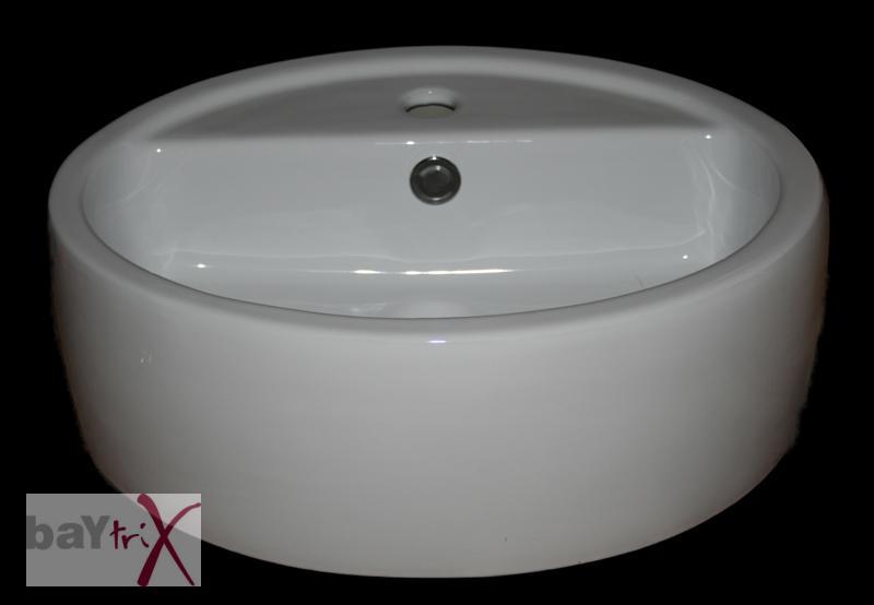 aufsatzwaschbecken keramik wei waschschale 50x40x19. Black Bedroom Furniture Sets. Home Design Ideas