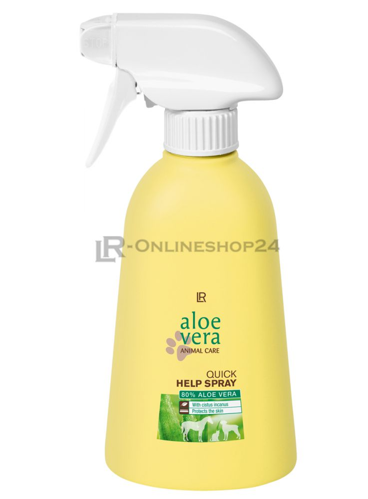 lr aloe vera animal care quick help spray 400ml ebay. Black Bedroom Furniture Sets. Home Design Ideas