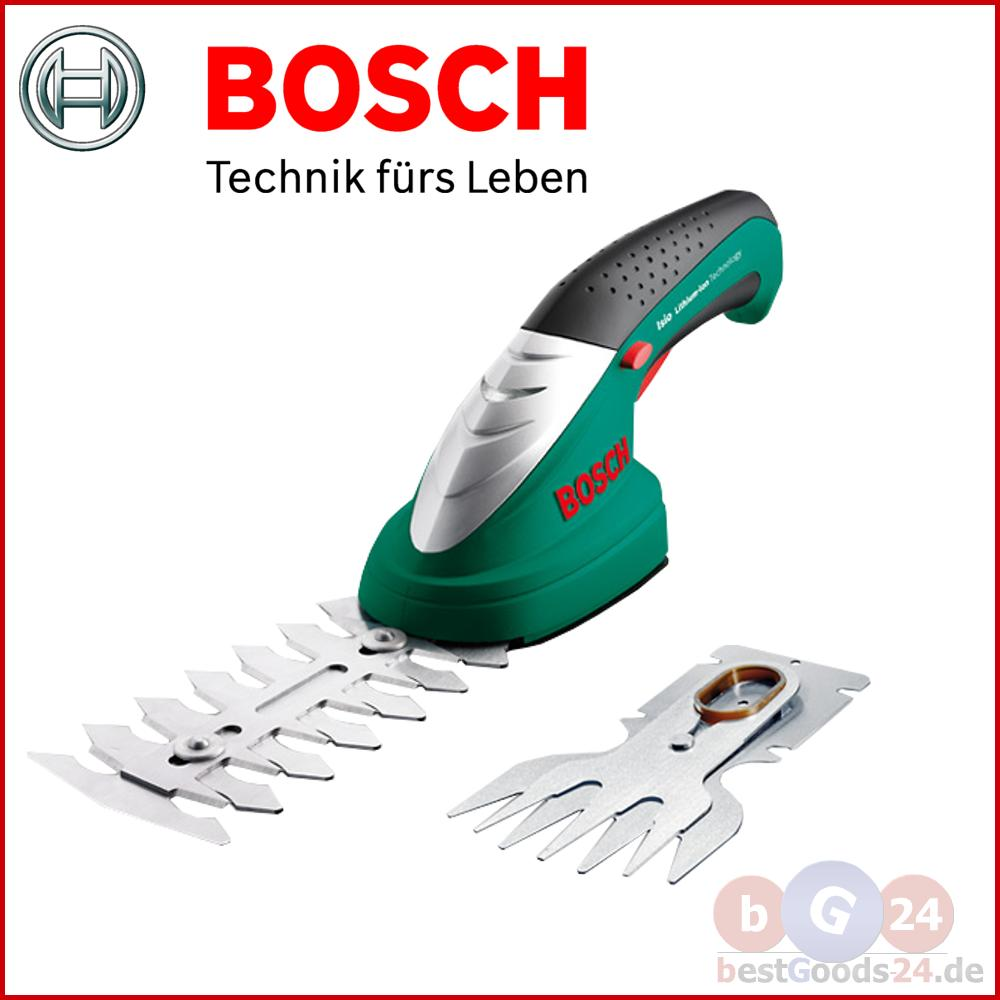 bosch akku grasschere isio 3 6 v akku mit teleskopstiel gras strauchschere qwy2 ebay. Black Bedroom Furniture Sets. Home Design Ideas