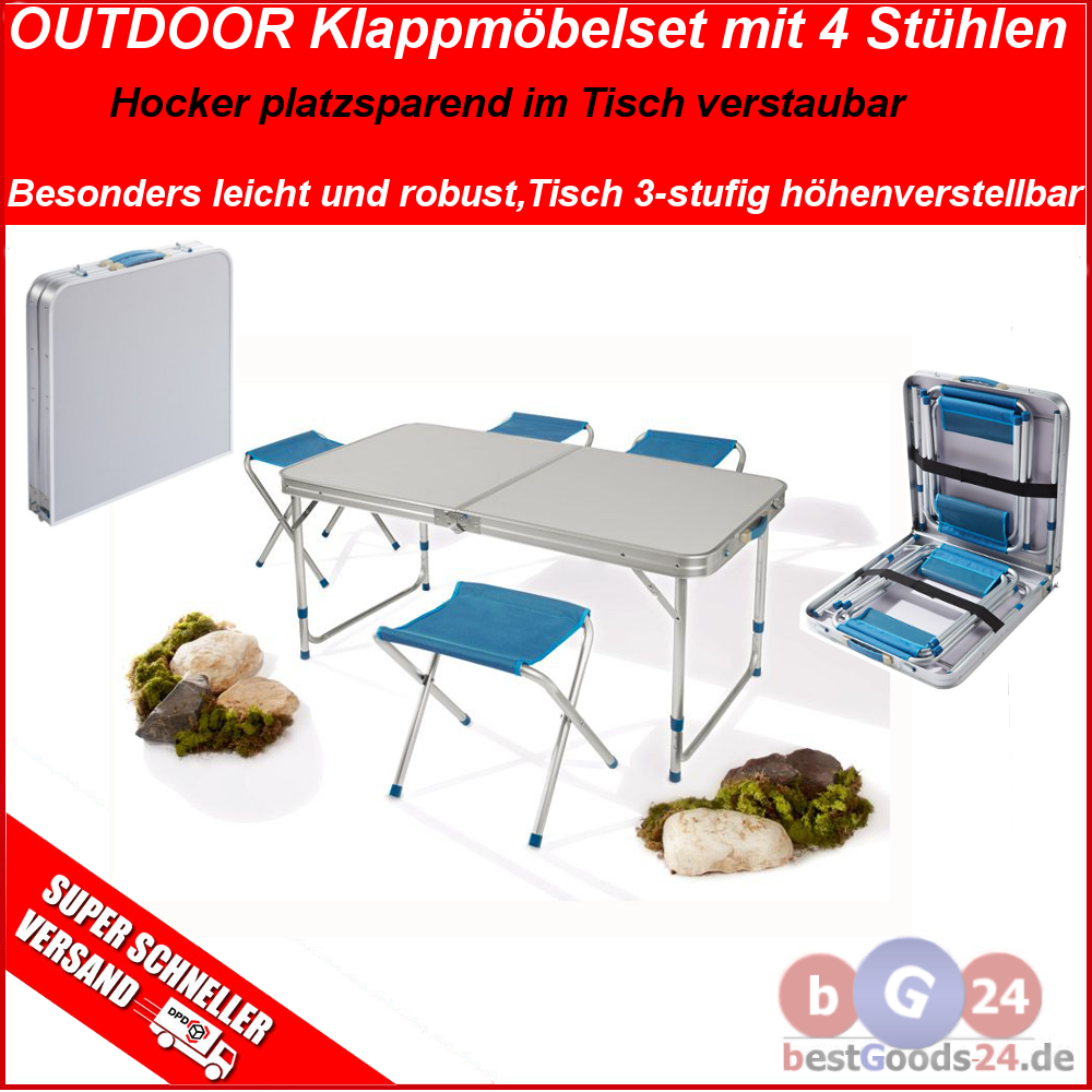 camping tisch stuhl set dekoration bild idee. Black Bedroom Furniture Sets. Home Design Ideas