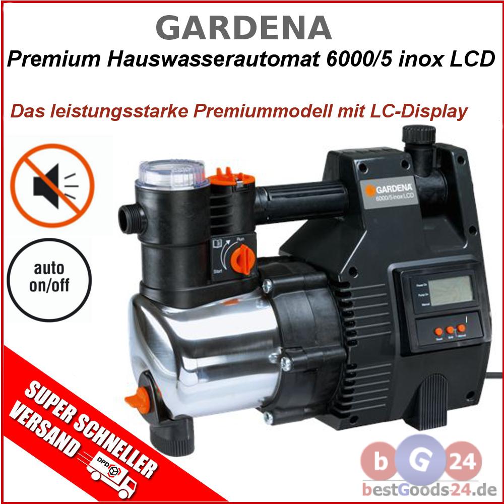 gardena 6000 5 inox lcd 1769 lc display premium. Black Bedroom Furniture Sets. Home Design Ideas