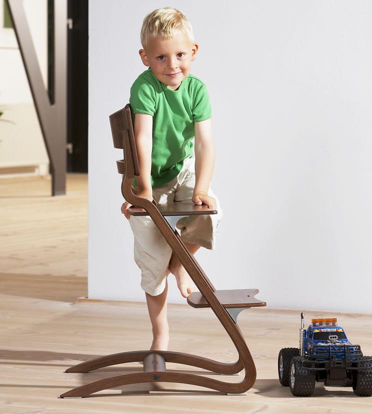 leander hochstuhl babystuhl ohne b gel farbe w hlbar holz neu ovp ebay. Black Bedroom Furniture Sets. Home Design Ideas