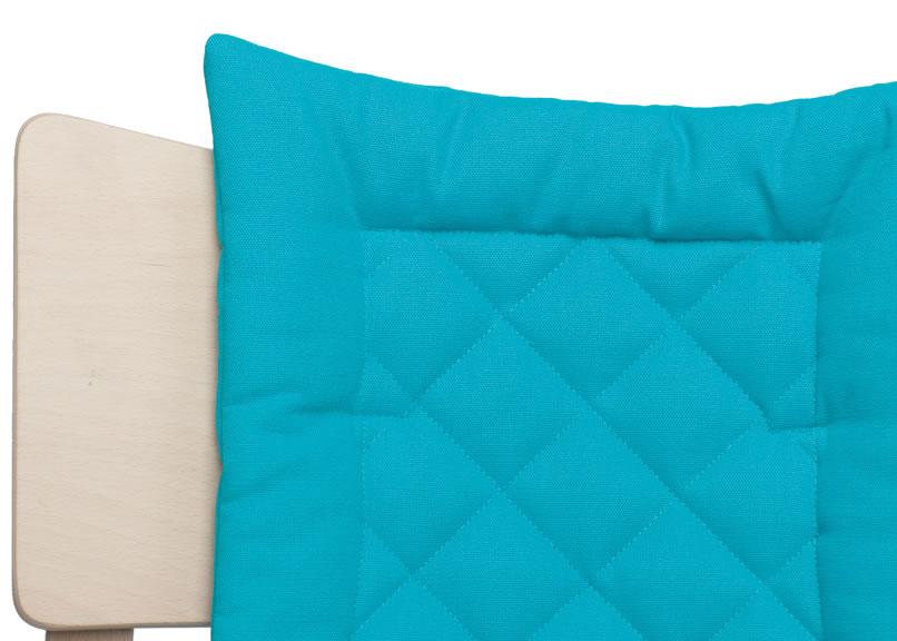 leander hochstuhl babystuhl sitzkissen neu ebay. Black Bedroom Furniture Sets. Home Design Ideas