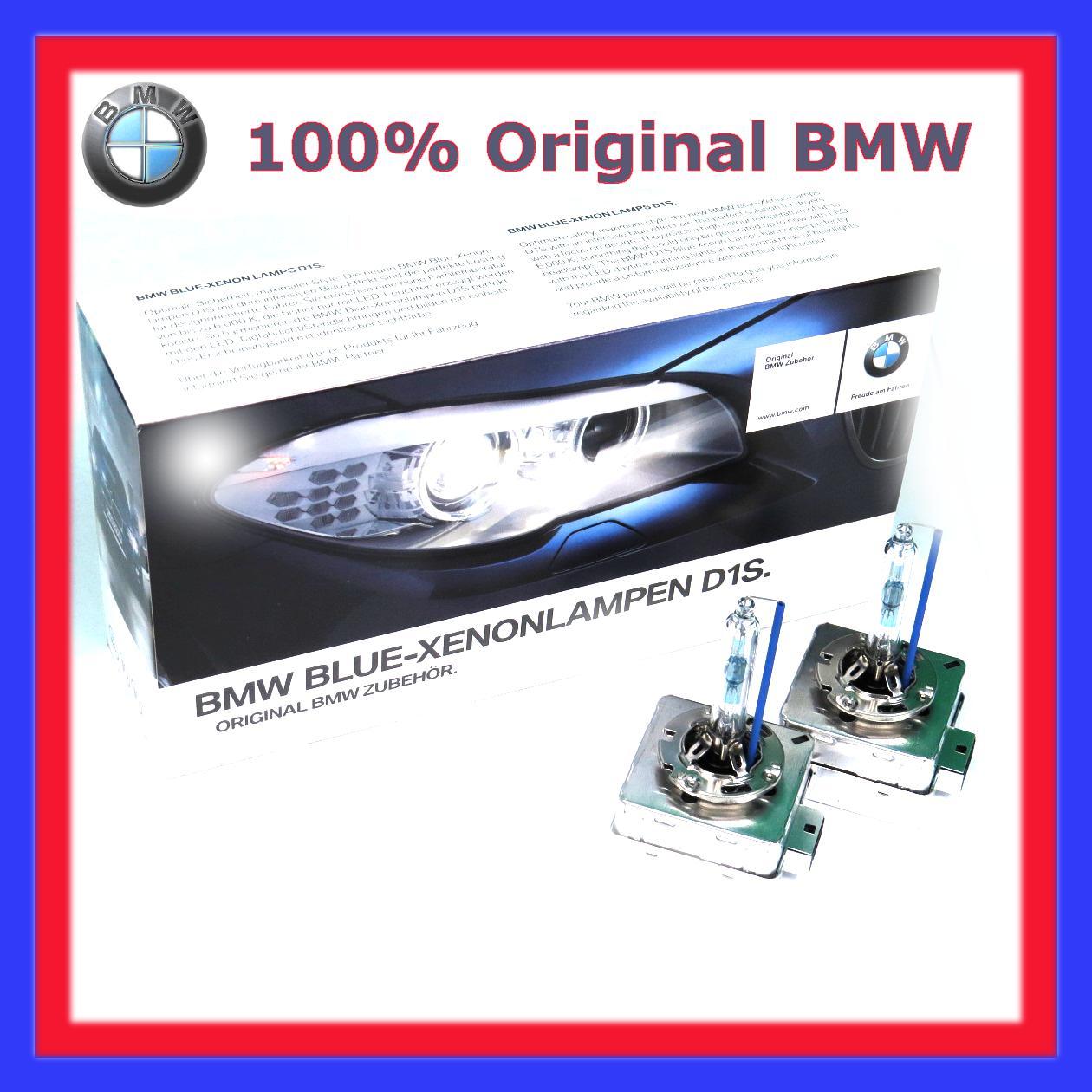 2x 100 original bmw xenon brenner d1s blue e70 e81 e82. Black Bedroom Furniture Sets. Home Design Ideas