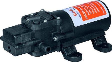 12 volt flopower druckwasserpumpe wasserpumpe pumpe mit wasserschlauch nur druck ebay. Black Bedroom Furniture Sets. Home Design Ideas