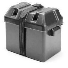 NEU Batteriebehälter Batteriebox Batteriekasten + Gurtband Größenwahl
