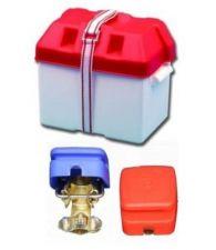 Set Batteriekasten Batterie - Schnellklemmen für 12V Batterien Batteriebox