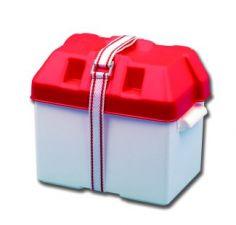 Batteriebehälter Batteriebox Batteriekasten mit Befestigungsgurt