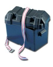 Batteriebehälter Batteriekasten Batteriebox mit Gurtband